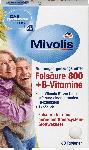 dm-drogerie markt Mivolis Folsäure 800 + B-Vitamine, Tabletten 60 St.