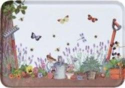 Tablett Gartenwelt