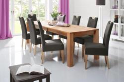 Home affaire Stuhl »Almai« im 2er, 4er oder 6er- Set, bezogen mit echtem Leder oder Kunstleder
