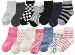 LUPILU® Kleinkinder Socken, 7 Paar