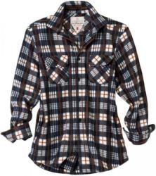 Herren-Fleecehemd mit zwei Brusttaschen
