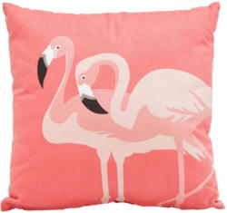 Zierkissen Flamingo Couple ca. 45x45cm
