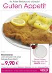 Adler Restaurant Riesenwiener - bis 31.12.2015