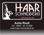 Haar-Schneiderei Gutscheine um -20% - bis 25.06.2018