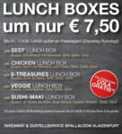 Fallaloon – Fine Asian Dining Lunch Boxes - bis 21.07.2018