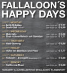 Fallaloon – Fine Asian Dining FALLALOON'S HAPPY DAYS - bis 21.07.2018