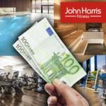 John Harris Fitness € 200,- geschenkt bei John Harris Fitness - bis 30.09.2016