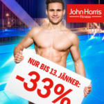 John Harris Fitness -33% auf alle Mitgliedschaften* - bis 13.01.2016