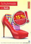 Modehaus Roth -15% auf alle Damen Schuhe - bis 21.03.2015