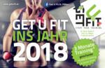 Get U Fit 3 Monate Training* geschenkt für jede Anmeldung im Jänner 2018 - bis 22.01.2018