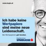 Kärntner Sparkasse AG Bei Wertpapieren gut beraten - bis 01.09.2016