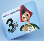 Kärntner Sparkasse AG 3% Sparefroh Sparen - ertragreich sparen für Ihr Kind - bis 28.02.2016