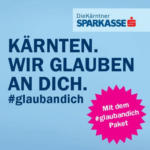 Kärntner Sparkasse AG Glaubandich Paket - bis 21.01.2018