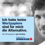 Kärntner Sparkasse AG Wertpapiere sind die Alternative - bis 23.11.2016
