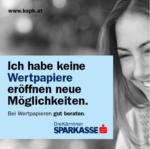 Kärntner Sparkasse AG Wertpapiere eröffnen neue Möglichkeiten - bis 23.11.2016