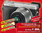 Digital Camera Graz Panasonic Lumix GX7 inkl. 14-42mm/3.5-5.6 OIS - bis 24.12.2015