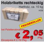 die baulöwen Holzbriketts rechteckig - bis 23.12.2017