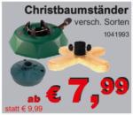 die baulöwen Christbaumständer - bis 23.12.2017