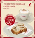 Anker Portion Nusskranz + Melange - bis 09.04.2013
