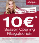Ulla Popken Shopping City Süd Season Opening - bis 04.10.2014