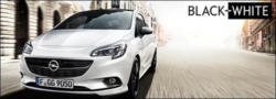 Opel Corsa Black & White und Black & White OPC Line