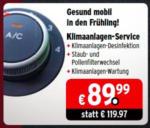 A.T.U Auto-Teile-Unger GmbH & Co KG Klimaanlagen-Service - bis 16.04.2016