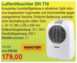 Schmidt's Luftentfeuchter DH 710 - bis 05.10.2016