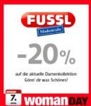 Fussl Modestraße -20% auf die aktuelle Damenkollektion - bis 07.04.2016