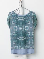 Sa.Hara Blue Shirt