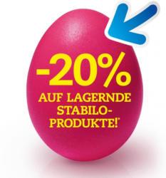 -20% auf lagernde STABILO-Produkte