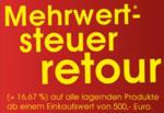 Teak-It 16,67% Mehrwertsteuer retour - bis 15.06.2014