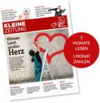 Kleine Zeitung Shop 3für1 Schnupperabo Kleine Zeitung - bis 22.10.2018