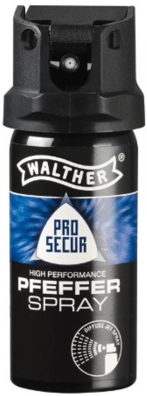 WALTHER Pfefferspray ProSecur 53ml mit konischem Strahl