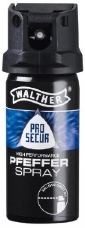 WALTHER Pfefferspray ProSecur 53ml mit ballistischem Strahl