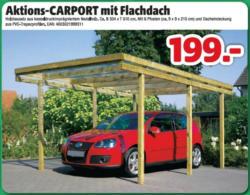 Aktions Carport Mit Flachdach Nur 199 00 Hagebaumarkt Niederer Jennersdorf Angebot Wogibtswas At