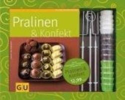 Pralinen & Konfekt, m. 3 Pralinengabeln u. 375 Papierförmchen