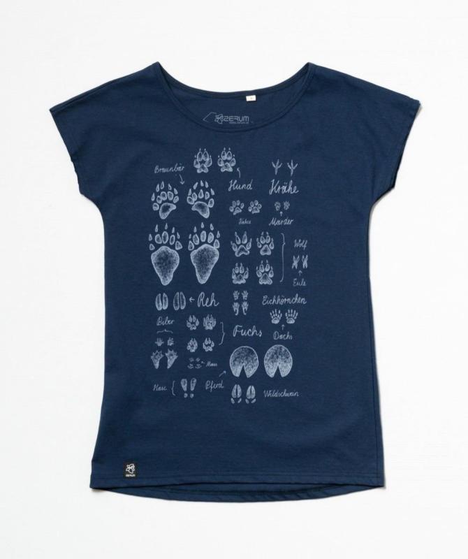 Lea Spuren BIO T-Shirt mit lockerem Rundhalsausschnitt