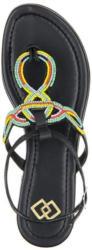 Gamloong Glattleder-Sandale