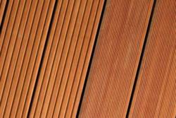 Terrassenholz Bangkirai geriffelt 21 mm   2,44 m   8'