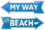 KARE Wandschmuck My Way-Beach - bis 31.03.2017
