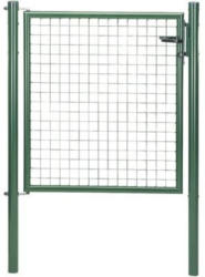 Wellengittertor 100 x 75 cm, grün