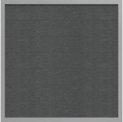 Zaunelement Novara 180 x 180 cm, Anthrazit