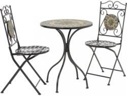 MODERN LIVING Gartenset Ornella mit Mosaik Schwarz