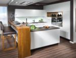 P. MAX Maßmöbel Elegante Wohnküche mit einer gemütlichen Barlösung - bis 22.02.2017