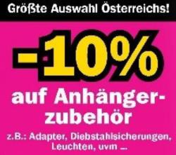 -10% auf PKW-Anhängerzubehör