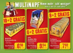 Multinapf-Angebote