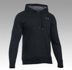 UNDER ARMOUR CG Loose Storm Rival Cotton Hoody Schwarz