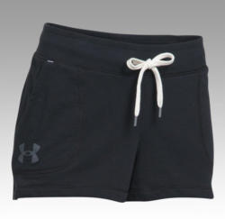 UNDER ARMOUR AG Loose French Terry Shorty Schwarz