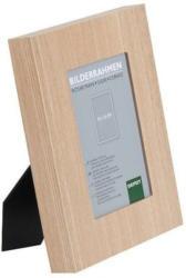 Bilderrahmen Mischholz/Glas hellbraun ca. 10x15 cm