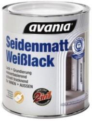 AVANIA Weißlack Hochglanz oder Seidenmatt, 750 ml